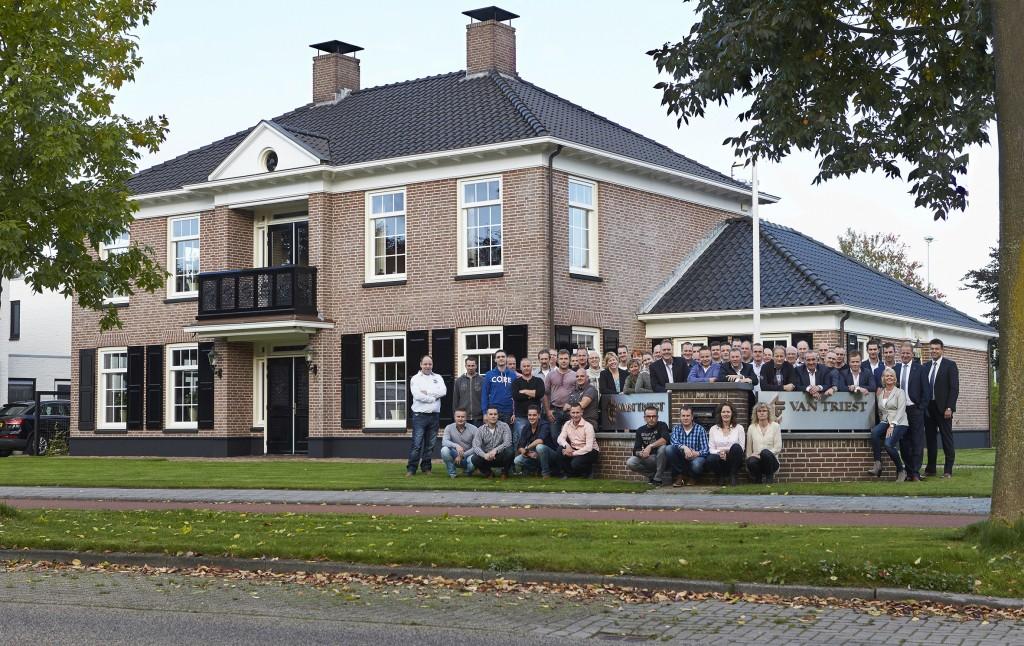 Van-Triest-kantoor site